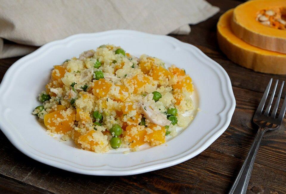 рецепт кускуса с курицей и овощами